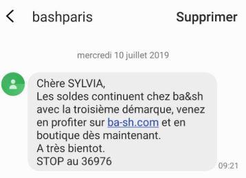 SMS BASH