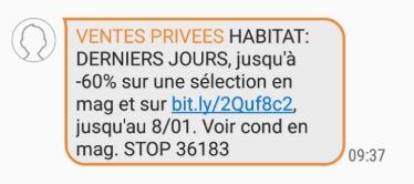 SMS Habitat